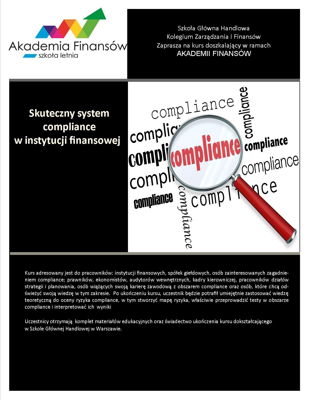 skuteczny system compliance sgh
